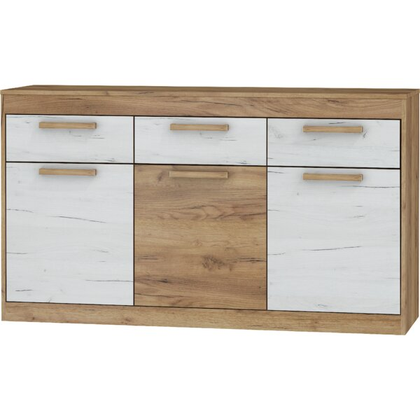 Columbia 3 Drawers Sideboard by Ebern Designs