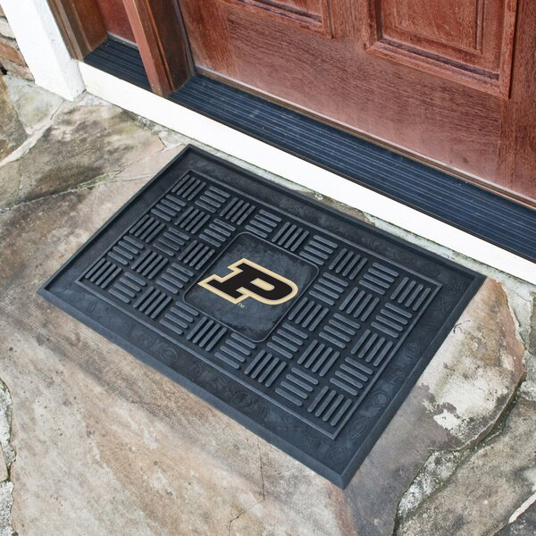NCAA Purdue University Medallion Door Mat by FANMATS