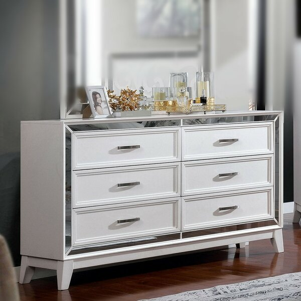 Westra 6 Drawer Double Dresser by Rosdorf Park