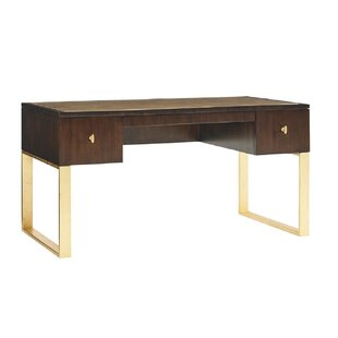 Bel Aire Melrose Glass Writing Desk