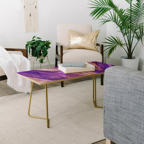 Viviana Gonzalez Agate Inspired Coffee Table By East Urban Home