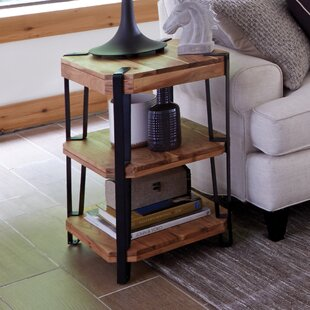 Best Choices Tindal Live Edge End Table ByUnion Rustic