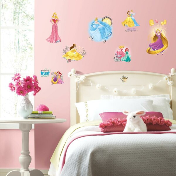 Disney Princess Friendship Adventures Peel and Stick Wall Decal by Room Mates
