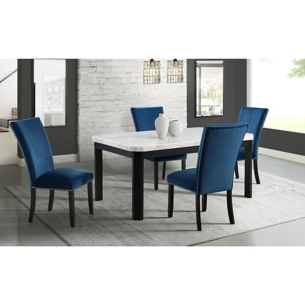 Hermann 5 Piece Dining Set by Andover Mills Andover Mills