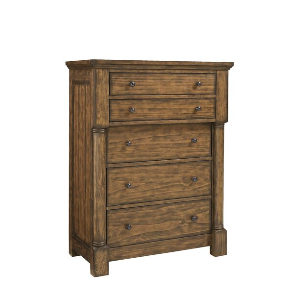 Burndale 5 Drawer Standard Chest by Loon Peak