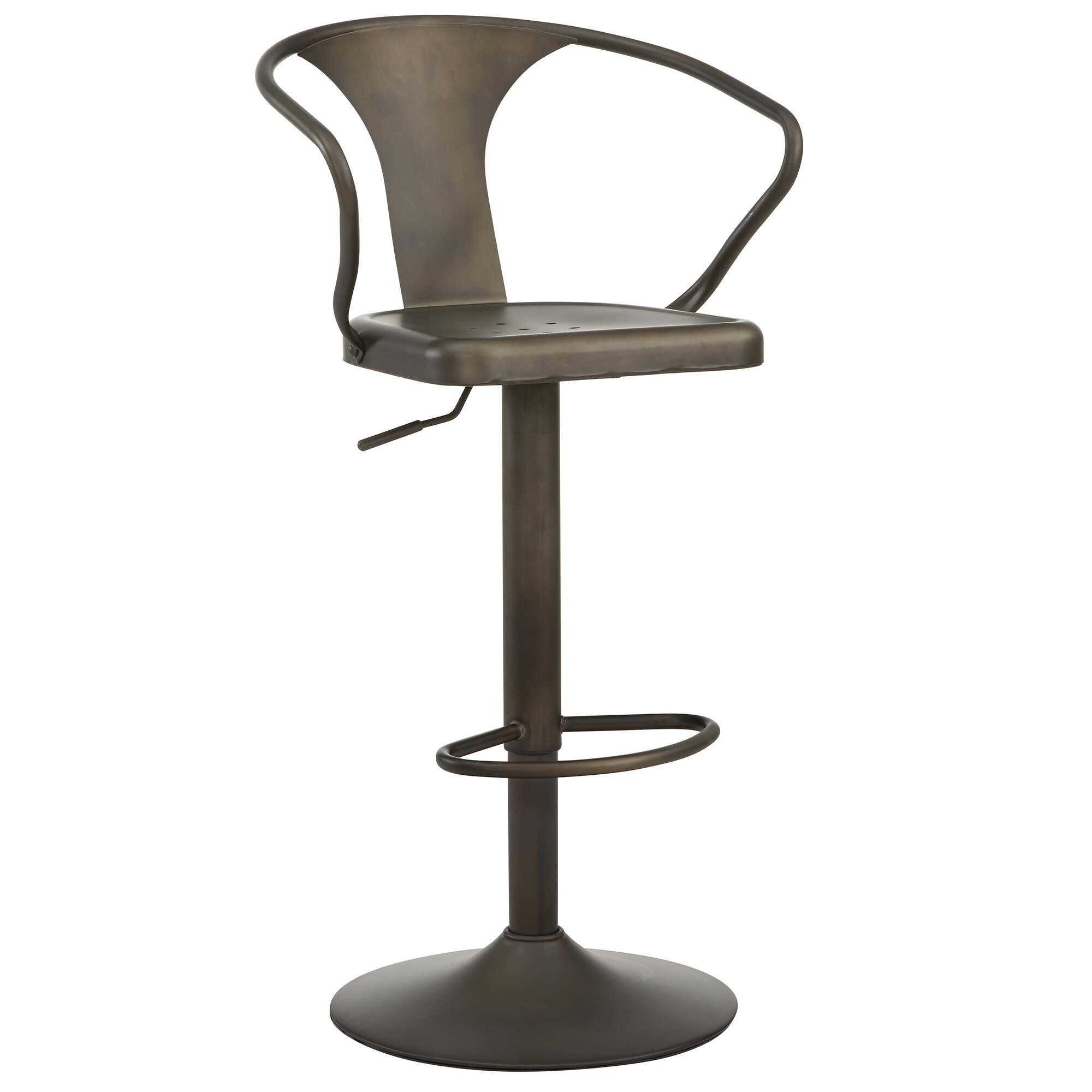 Excellent Nspire Adjustable Height Swivel Bar Stool Reviews Wayfair Squirreltailoven Fun Painted Chair Ideas Images Squirreltailovenorg