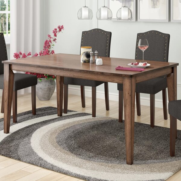 Rutledge Dining Table by Rosecliff Heights