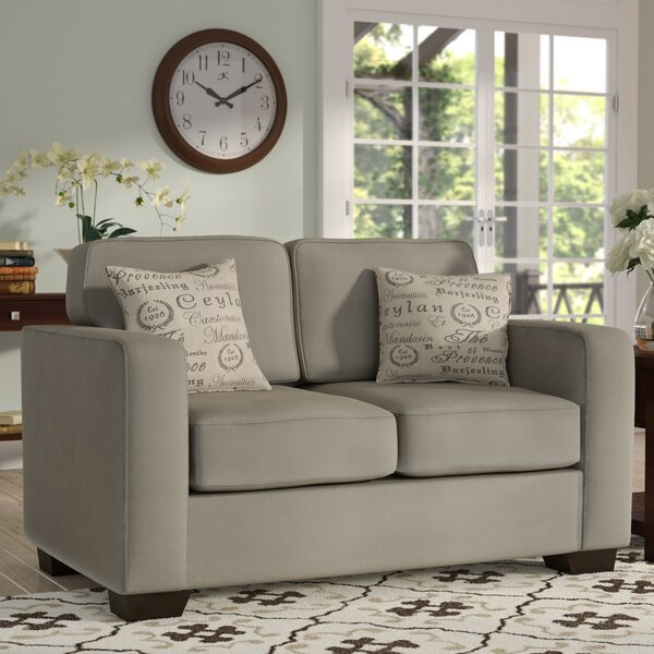 Buy Online Top Rated Deerpark Loveseat by Andover Mills by Andover Mills