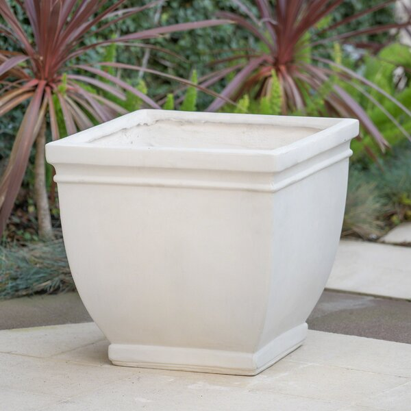 East Broadway Magnesium Oxide Pot Planter by Charlton Home