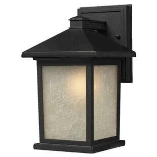 Check Prices Stevens 1-Light Outdoor Wall Lantern By Andover Mills