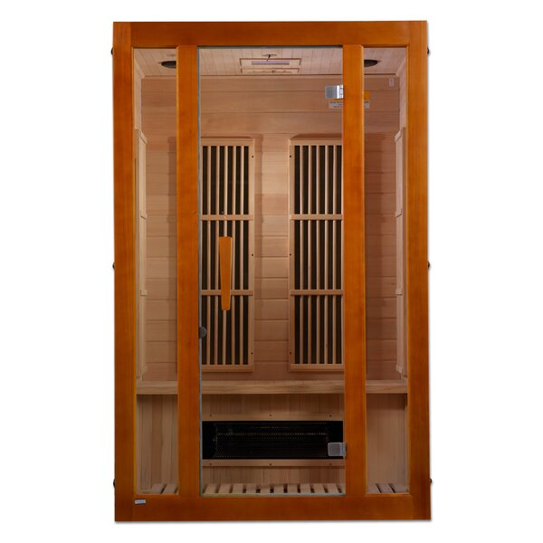Maxxus 2 Person FAR Infrared Sauna by Dynamic Infrared