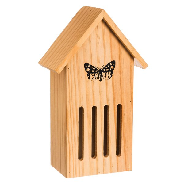Hibernation 12 in x 7 in x 4 in Butterfly House by Evergreen Enterprises, Inc