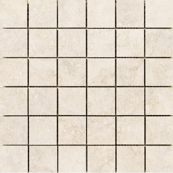Costa 2 x 2 Ceramic Mosaic Tile in Sand by Emser Tile