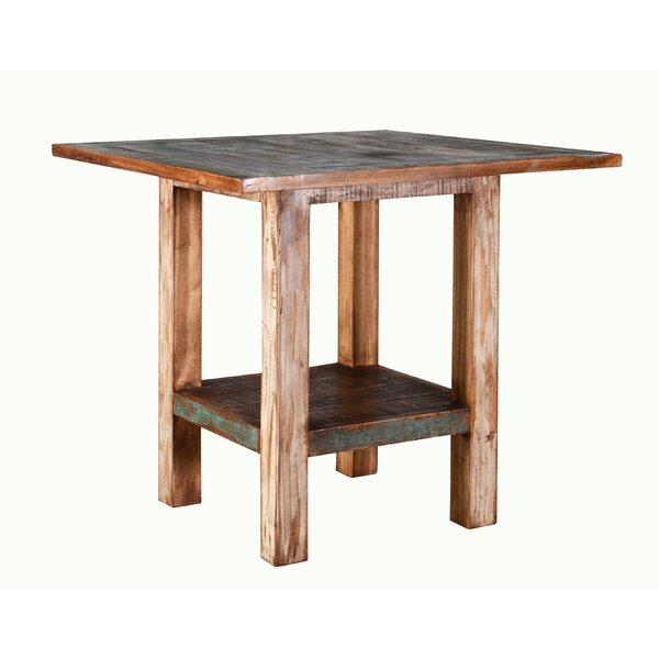 Szymanski Solid Wood Dining Table by Highland Dunes Highland Dunes