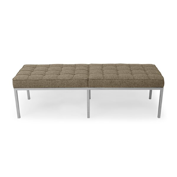 Quillian Three Seat Bench by Comm Office