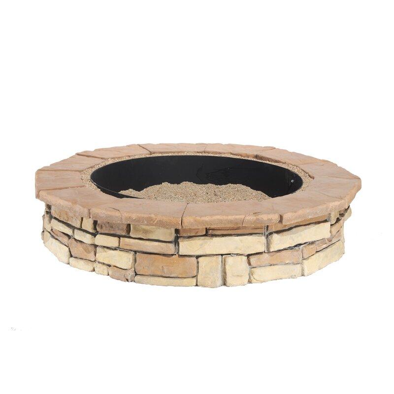Natural Concrete Products Co Random Stone Concrete Wood ...