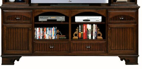 Vicknair Solid Wood TV Stand For TVs Up To 88
