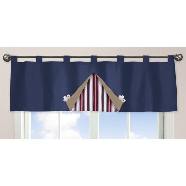 Nautical Nights 54 Curtain Valance by Sweet Jojo Designs