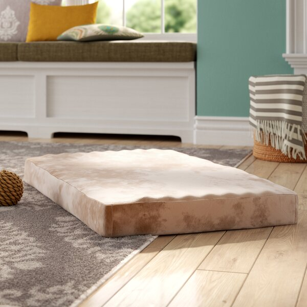 Fannie Memory Foam Dog Bed with Removable Cover by
