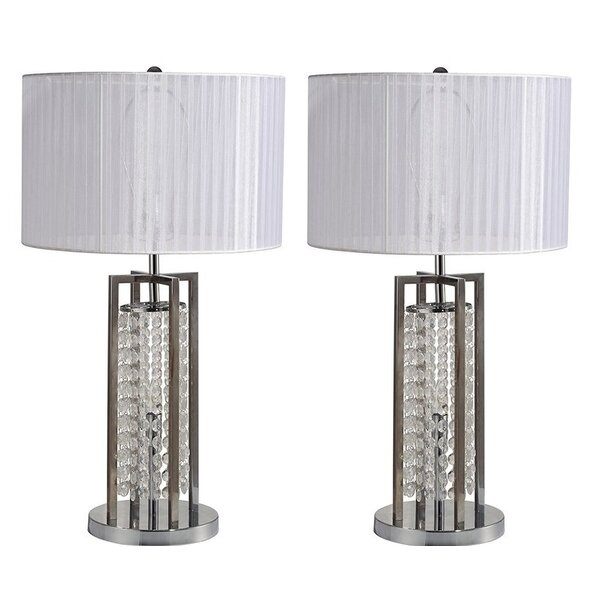 Kajal 28 Table Lamp (Set of 2) by Everly Quinn
