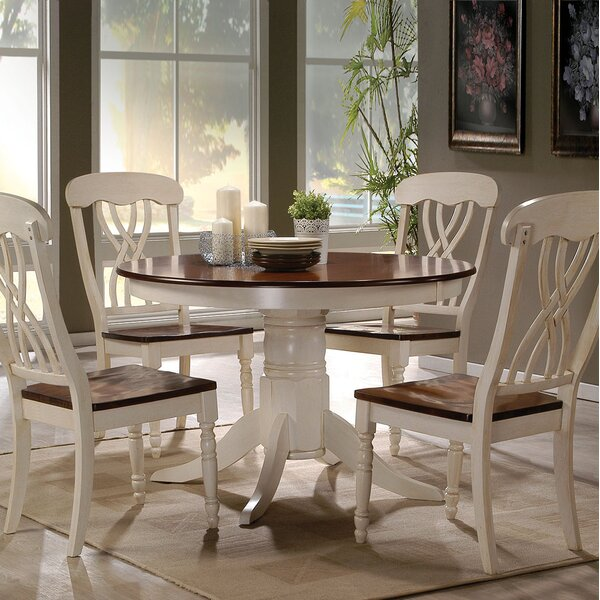Chamberlain 5 Piece Dining Set by August Grove