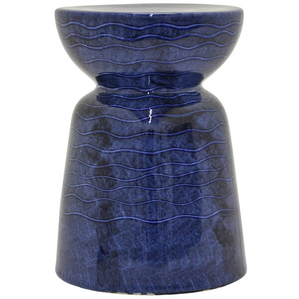 Farris Ceramic Garden Stool by World Menagerie