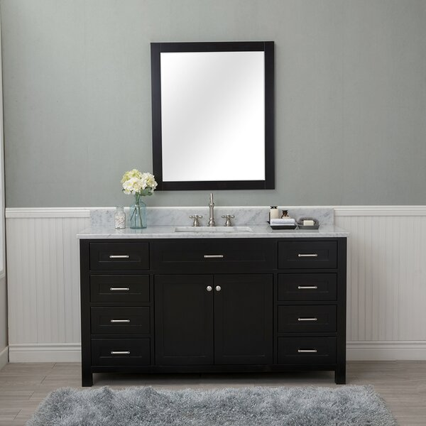 Costin 60 Single Bathroom Vanity Set with Mirror by Red Barrel Studio