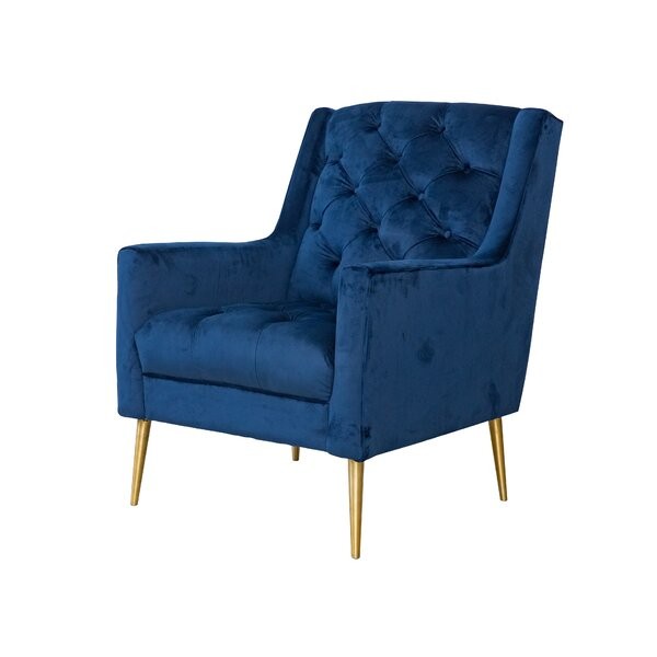 Delvale Wingback Chair by Mercer41