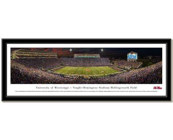 NCAA Stadium Framed Photographic Print by Campus Images