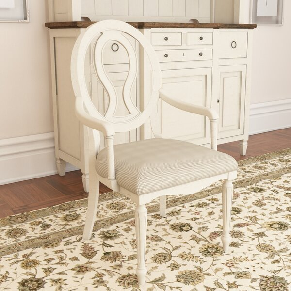 Payton Arm Upholstered Dining Chair (Set Of 2) By Canora Grey