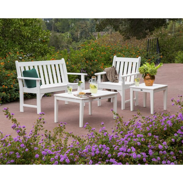 Vineyard 4 Piece Multiple Chairs Seating Group