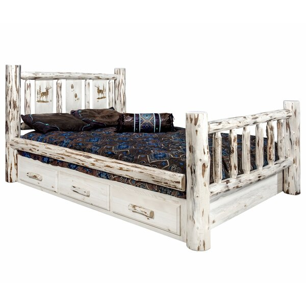 Antigo Full Storage Platform Bed by Millwood Pines