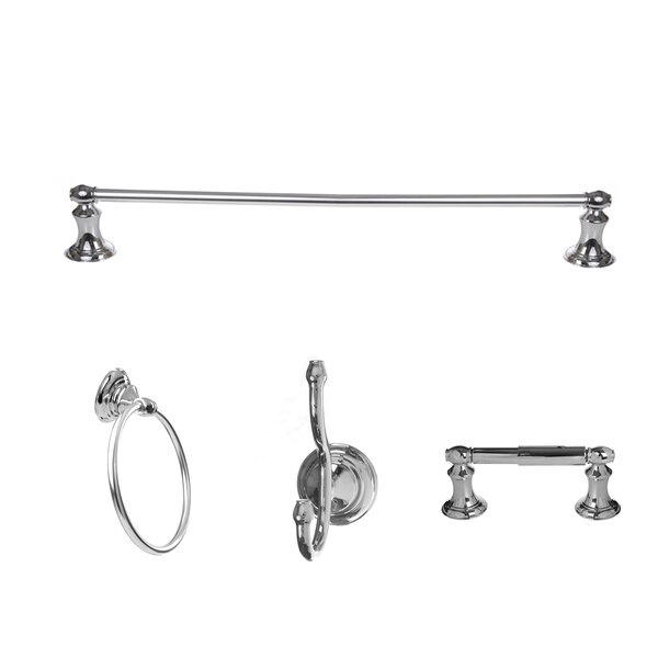 Highlander 4 Piece Bathroom Hardware Set by ARISTA
