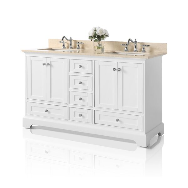 Michael 60 Double Bathroom Vanity Set by Darby Home Co