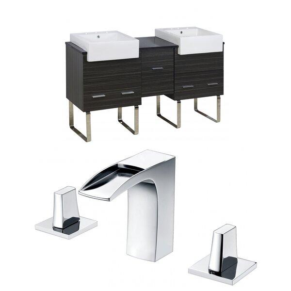 Hindman 60 Double Bathroom Vanity Set by Royal Purple Bath Kitchen