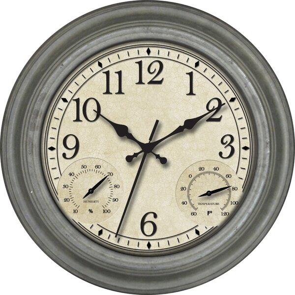 Delicieux Outdoor Clocks Youu0027ll Love | Wayfair
