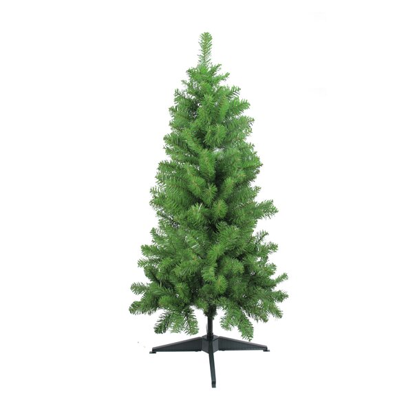 48 Green Fir Artificial Christmas Tree with Unlit Light with Stand by Northlight Seasonal