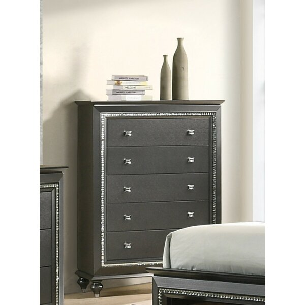 Webber 5 Drawer Standard Chest by Rosdorf Park