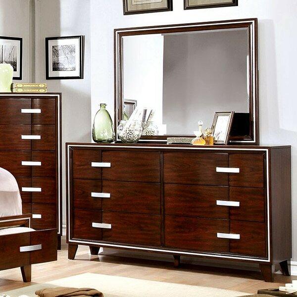 Modoc 6 Drawer Double Dresser by Brayden Studio