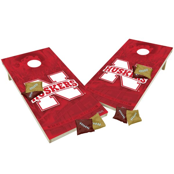 NCAA Shied Design Game Cornhole Set by Tailgate Toss