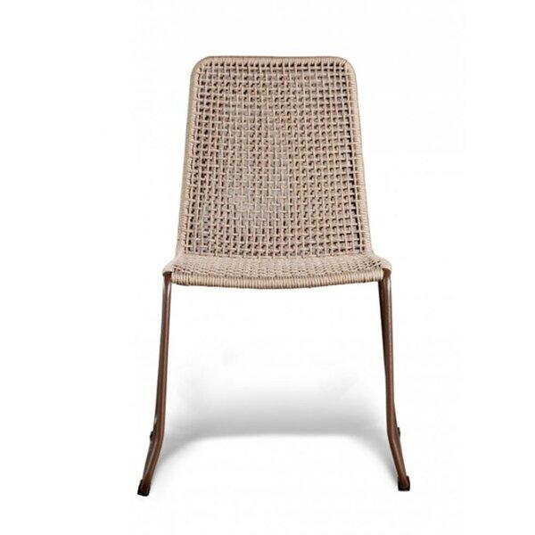 Stacking Teak Patio Dining Chair By GAR