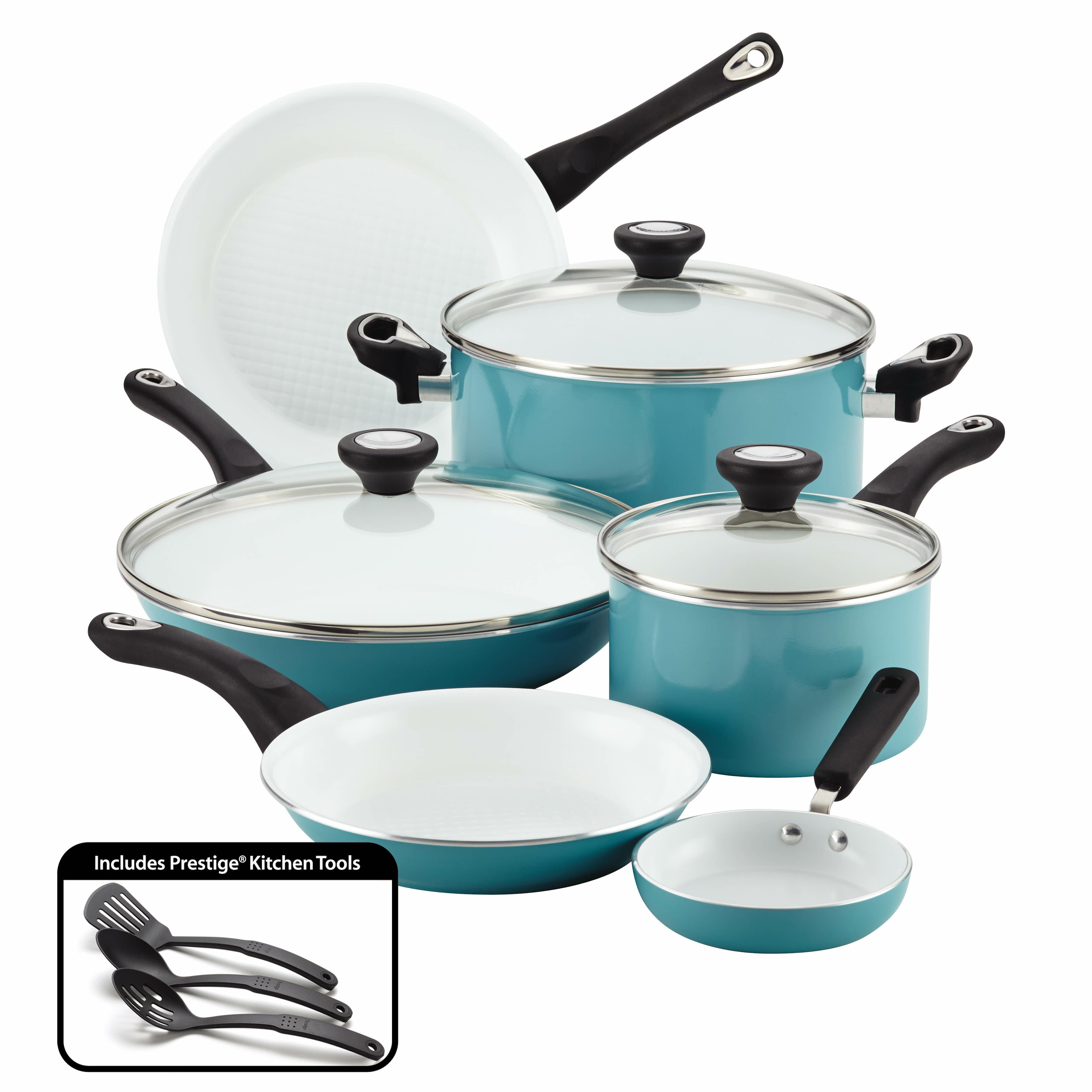 Farberware purecook 12 piece non stick cookware set reviews wayfair