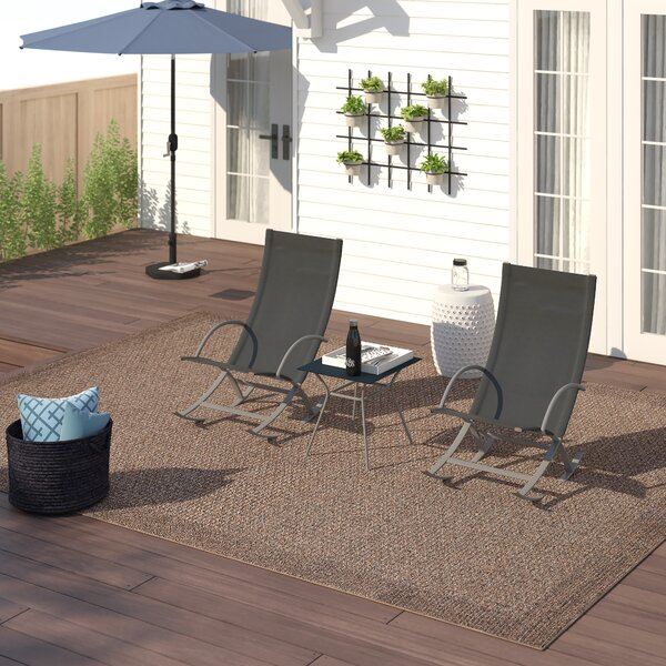 Gengler 3 Piece Seating Group by Zipcode Design
