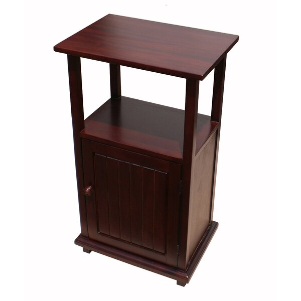Simplicity End Table with Storage by D-Art Collection D-Art Collection