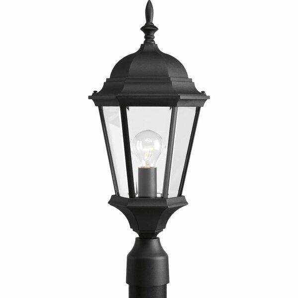 Triplehorn 1-Light Lantern Head in Clear Beveled Glass by Alcott Hill
