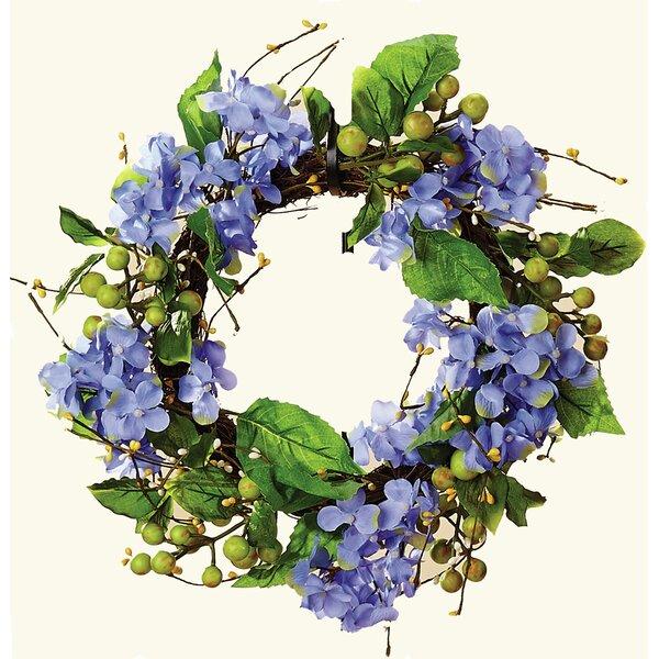 Hydrangea 13 Wreath by Lark Manor