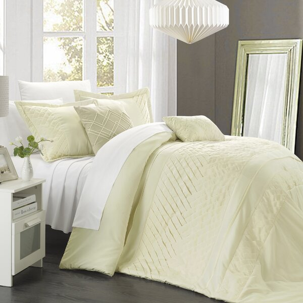 Carina 9 Piece Comforter Set by Chic Home