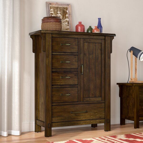 Waynoka 5 Drawer Gentleman's Chest by Gracie Oaks