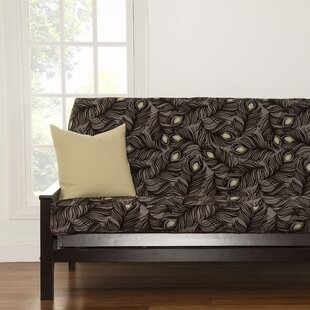 Floral Full Box Cushion Futon Slipcover