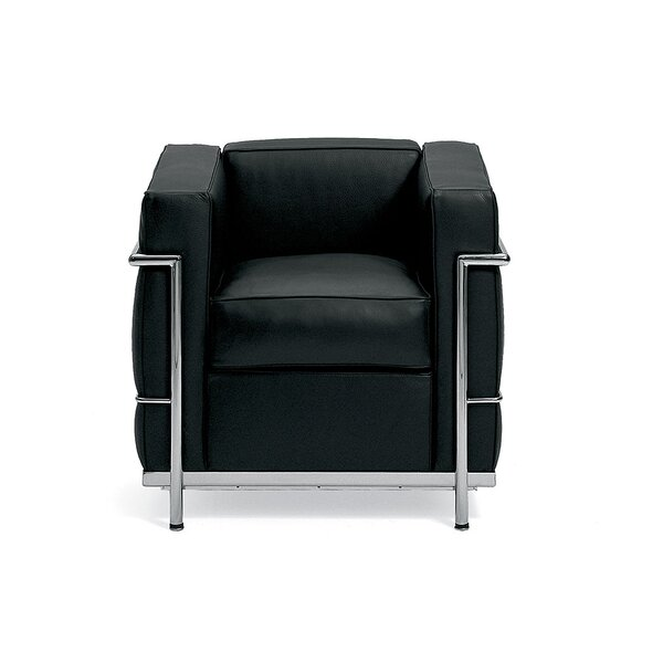 Le Corbusier Petit Comfort Leather Lounge Chair by Gordon International
